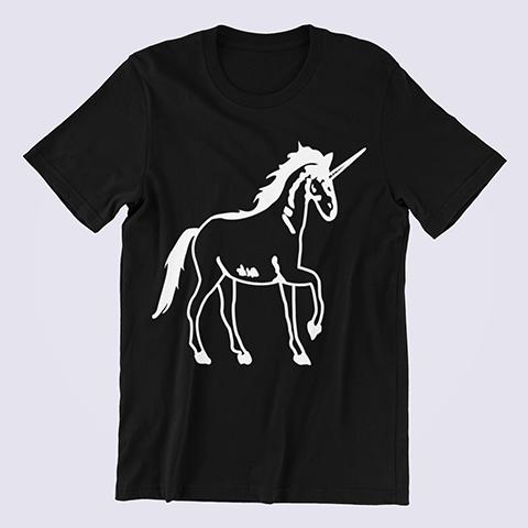 Cool-Unicorn-Unicorn-Gift-black-shirt