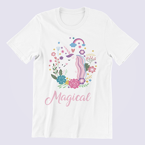 Unicorn-Shirt-Never-Stop-Being-Magical-white