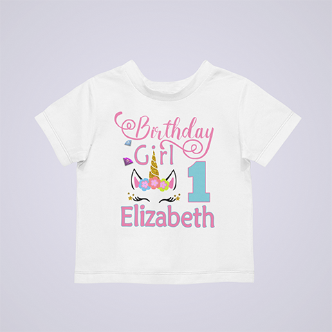 Personalized-Cool-Unicorn-birthday-shirt-white