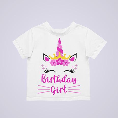 Unicorn Birthday Shirt, Family Matching Birthday Shirt, Personalized Birthday Girl Shirt, Unicorn Family Shirt, Unicorn Birthday Girl Shirt