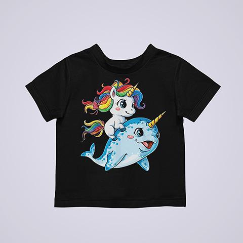 Dolphincorn, Dolphin Unicorn Rainbow Shirt